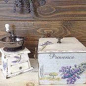 """Для дома и интерьера ручной работы. Ярмарка Мастеров - ручная работа Короб для хранения"""" любимый прованс"""". Handmade."""