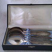 Винтаж handmade. Livemaster - original item Set tablespoons. Melchior. Kolchugino.. Handmade.