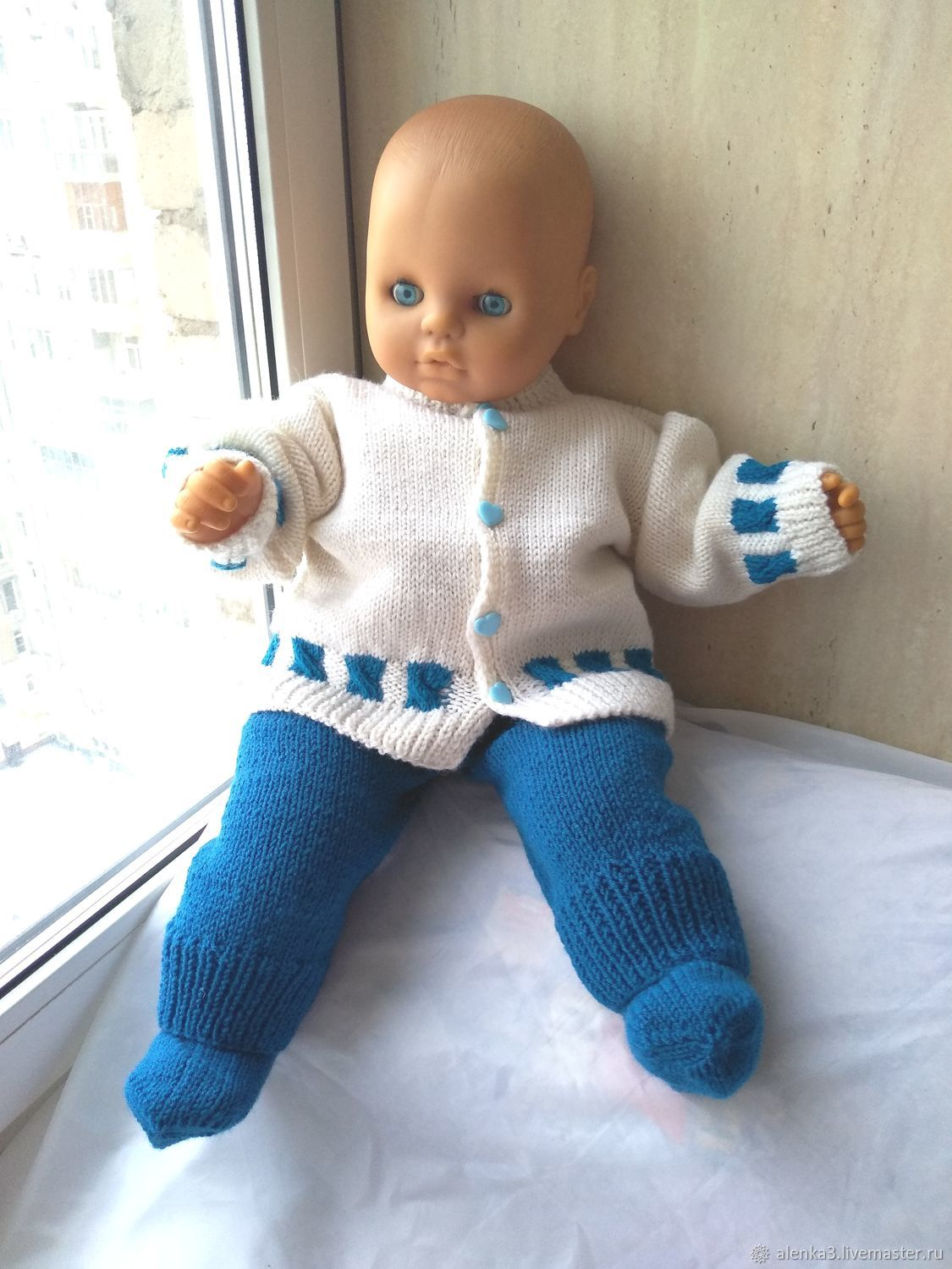 Clothing handmade. Livemaster - handmade. Buy Knitted suit: jacket, pants for boy made of wool.Clothing