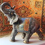 Для дома и интерьера ручной работы. Ярмарка Мастеров - ручная работа Индийские слоны. Handmade.