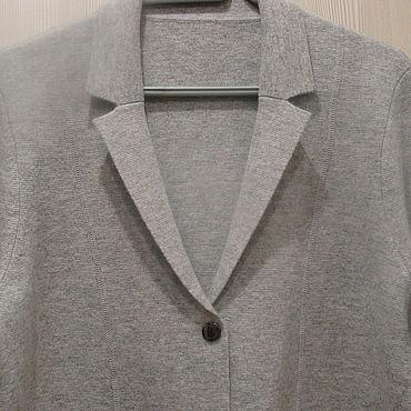 Винтаж ручной работы. Ярмарка Мастеров - ручная работа Жакет Пиджак Кофта Bogner 100% Virgin wool. Handmade.