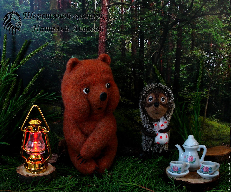 картинки чай и медведь это процедура