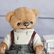 Куклы и игрушки ручной работы. Ярмарка Мастеров - ручная работа Николас мишка тедди23см. Handmade.