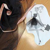 Ткани ручной работы. Ярмарка Мастеров - ручная работа Фатин сетка жесткая двух цветов. Handmade.
