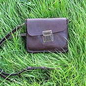 Сумки и аксессуары handmade. Livemaster - original item handy: Men`s leather messenger bag PILOT. Handmade.