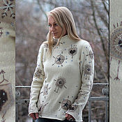 Одежда handmade. Livemaster - original item Sweater for Christmas.. Handmade.