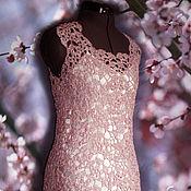 Одежда ручной работы. Ярмарка Мастеров - ручная работа платье Сакура 44-46. Handmade.