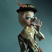 Куклы и игрушки ручной работы. Ярмарка Мастеров - ручная работа Айс из карнавала (на выставке до конца августа). Handmade.