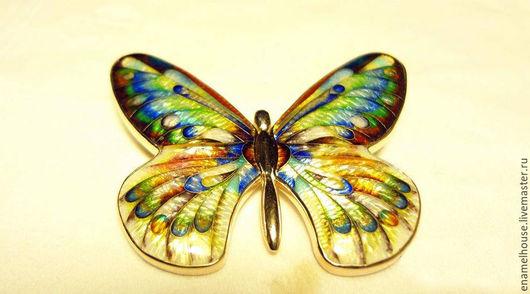 """Броши ручной работы. Ярмарка Мастеров - ручная работа. Купить Брошь """"Бабочка"""" 2. Handmade. Минанкари, кутха, желтый, подарок"""