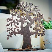 Статуэтки ручной работы. Ярмарка Мастеров - ручная работа Подставка для украшений в виде дерева. Handmade.