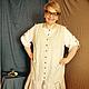 Платья ручной работы. Ярмарка Мастеров - ручная работа. Купить Платье Бохо Irina46. Handmade. Бохо, лен натуральный
