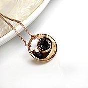 Украшения handmade. Livemaster - original item Black diamond pendant Amulette. Handmade.