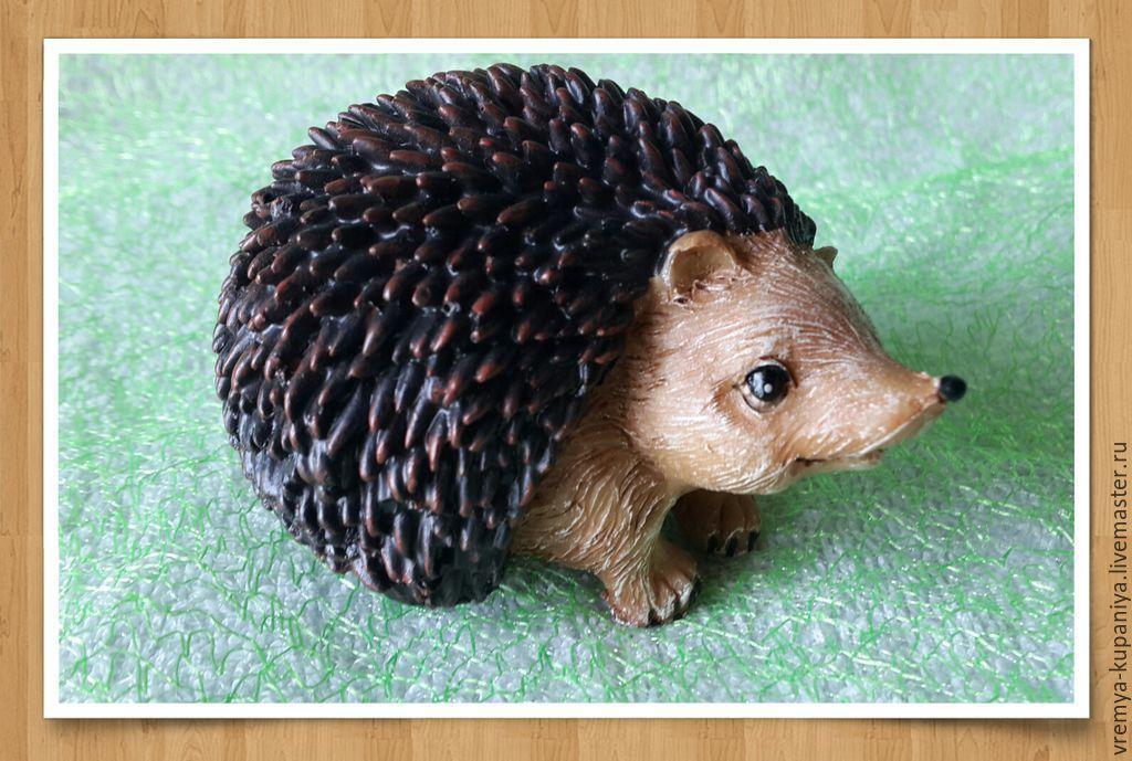 Silicone mold for soap 'the Hedgehog 2', Form, Vladivostok,  Фото №1