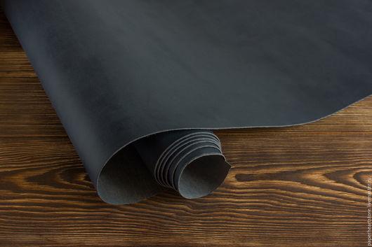 Другие виды рукоделия ручной работы. Ярмарка Мастеров - ручная работа. Купить Темно-синий кожзаменитель матовый. Handmade.