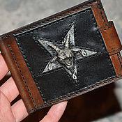 Сумки и аксессуары handmade. Livemaster - original item Wallet leather . Money clip . Purse leather .. Handmade.