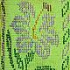 """Топы ручной работы. Топ летний с бисером """"Лилии"""". Светлана Уханова Головные уборы. Ярмарка Мастеров. Вязание с бисером"""