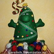 """Подарки к праздникам ручной работы. Ярмарка Мастеров - ручная работа Новогодняя елка """"Здрасьте, это Я!!!"""". Handmade."""