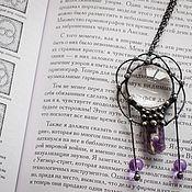 Украшения handmade. Livemaster - original item Pendant Eternal radiance of the pure mind (p-033-01). Handmade.
