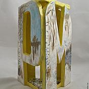 Для дома и интерьера handmade. Livemaster - original item Candle March. Handmade.
