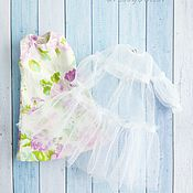 Куклы и игрушки handmade. Livemaster - original item For Blythe and Barbie. Two dresses in one.. Handmade.