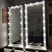 Для дома и интерьера ручной работы. Ярмарка Мастеров - ручная работа Зеркало на колесиках FANTOM 180/80 на 18 патронов. Handmade.