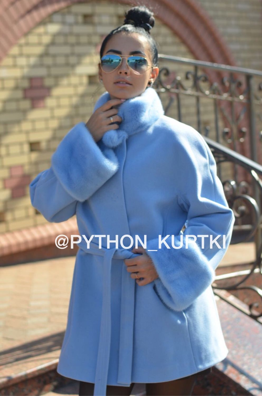 Пальто из кашемира Loro Piana с отделкой мехом норки!, Пальто, Москва,  Фото №1
