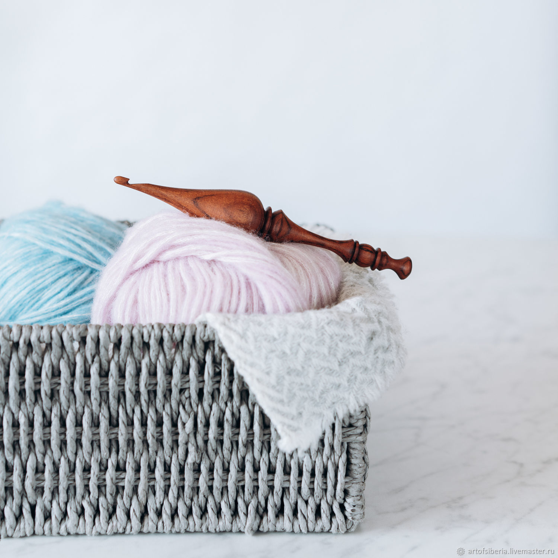Wooden crochet hook 4mm (Bubingo) K241, Crochet Hooks, Novokuznetsk,  Фото №1