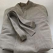 Одежда handmade. Livemaster - original item Bathrobe with the smell of linen