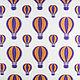 """Шитье ручной работы. Ярмарка Мастеров - ручная работа. Купить Итальянская ткань, вискоза 100%, """"Воздушные шары"""". Handmade. Белый"""