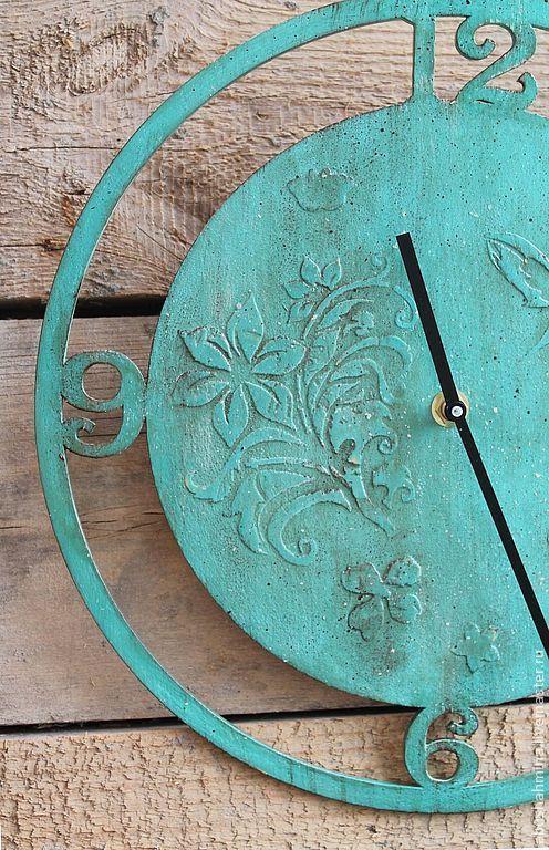 часы настенные бирюза\r\nбирюзовый, цвет морской волны\r\nчасы интерьерные\r\nмятный