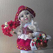 Авторская кукла Красная Шапочка