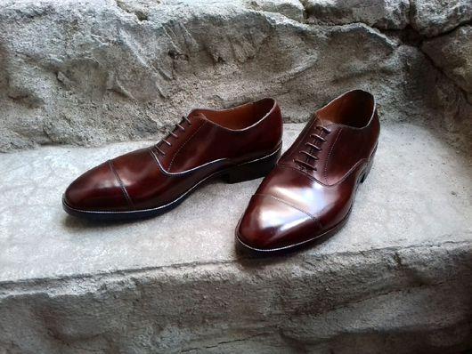 Обувь ручной работы. Ярмарка Мастеров - ручная работа. Купить Мужские туфли HayBros. Handmade. Туфли, обувь ручной работы