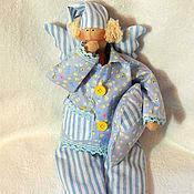 Куклы и игрушки ручной работы. Ярмарка Мастеров - ручная работа Сонный Ангел(сплюха). Handmade.