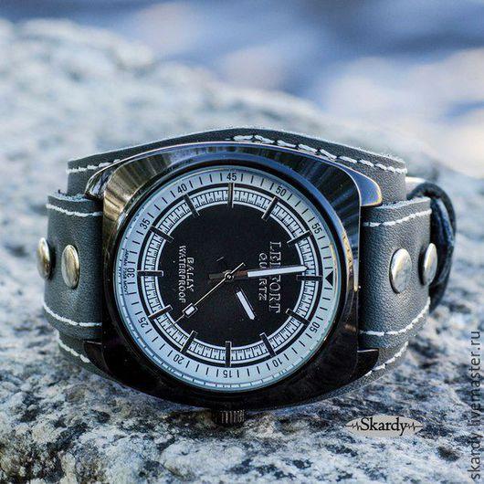 """Часы ручной работы. Ярмарка Мастеров - ручная работа. Купить Наручные часы """"Silver"""".. Handmade. Серый, наручные часы купить"""
