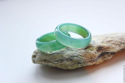 Минералы, друза ручной работы. Ярмарка Мастеров - ручная работа. Купить Халцедон кольцо (хризопраз)  (KGS0001). Handmade. Зеленый, кольцо