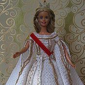 Куклы и игрушки ручной работы. Ярмарка Мастеров - ручная работа наряд русской принцессы. Handmade.