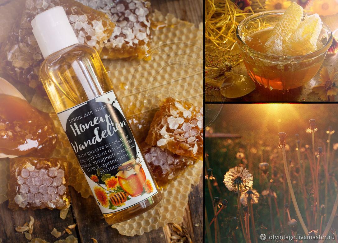 """Тоник для лица """"Honey Dandelion"""" , Tonics, Peterhof,  Фото №1"""