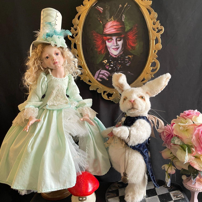 Кролик «Алиса в стране Чудес «, Мягкие игрушки, Тверь,  Фото №1
