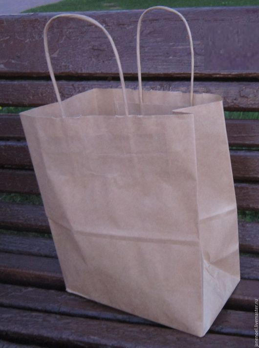 Пакет крафт 26Х35Х15 см