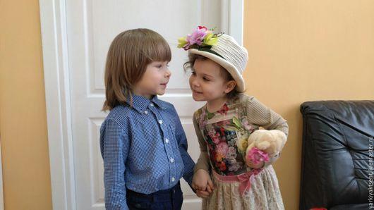 Одежда для девочек, ручной работы. Ярмарка Мастеров - ручная работа. Купить Платье ПЛТ 1011. Handmade. Разноцветный, нарядное платье
