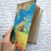 Канцелярские товары handmade. Livemaster - original item Cover for diary, books (skin)