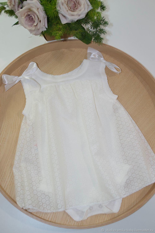 Боди-платье для девочки размер 74, Бодики, Москва,  Фото №1