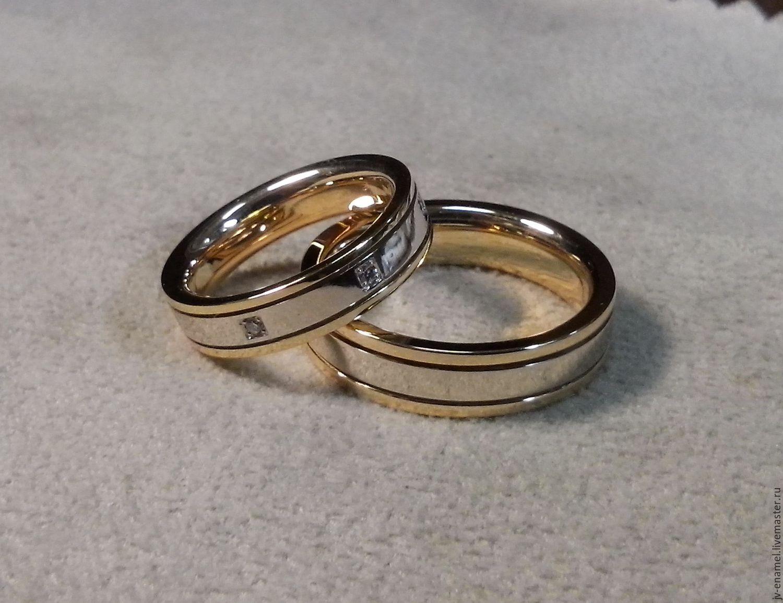 527e65ba5639 Свадебные украшения ручной работы. Ярмарка Мастеров - ручная работа. Купить  Обручальные кольца.