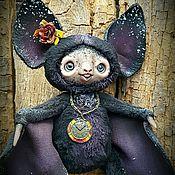 Куклы и игрушки ручной работы. Ярмарка Мастеров - ручная работа Летучая мышка Маргоша. Handmade.