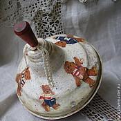 """Для дома и интерьера ручной работы. Ярмарка Мастеров - ручная работа юла """"Мишки"""". Handmade."""