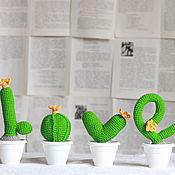 Для дома и интерьера handmade. Livemaster - original item Cactus in LOVE. Handmade.