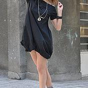 Одежда handmade. Livemaster - original item Summer short dress, cotton Dress - DR0322CT. Handmade.