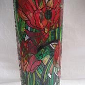 Для дома и интерьера ручной работы. Ярмарка Мастеров - ручная работа Ваза Маки Арт- Деко. Handmade.