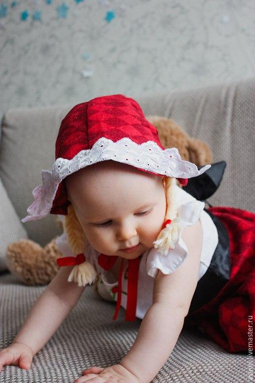 Костюмы на новый год красная шапочка для детей