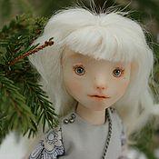 Настя. Подвижная куколка (на каркасе)